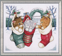 Cosy Kittens Cross Stitch Kit By Design Works