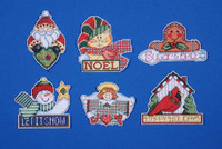 Signs Of Christmas Ornaments Cross Stitch Kit By Design Works