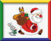 Presents Cross Stitch Kit By Riolis