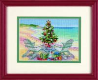 Christmas On The Beach Cross Stitch Kit