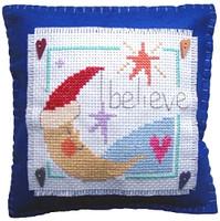 Believe Cushion Cross Stitch Kit
