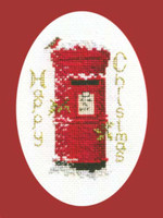Christmas Post Card Cross Stitch Kit