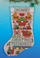 DW-5411 Design Works Counted Cross Stitch Kit Christmas Dreams Stocking
