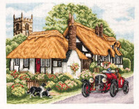 Village Of Welford Cross Stitch Kit
