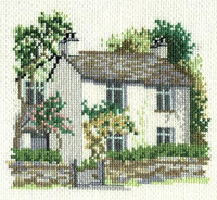 Dove Cottage Cross Stitch Kit