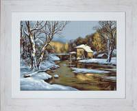 Winter Day Cross Stitch Kit By Luca-S