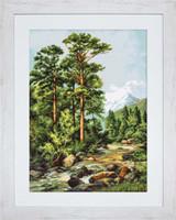 Mountain River Cross Sttich Kit By Luca-S