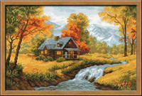 Autumn View ~ Cross Stitch Kit