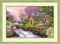 The Spring View ~ Cross Stitch Kit