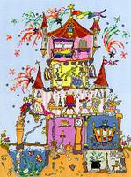 Cut Thru Princess Palace Cross Stitch Kit