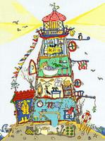 Cut Thru Light House Cross Stitch Kit