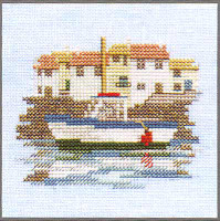 Harbour Cross Stitch Kit On Linen