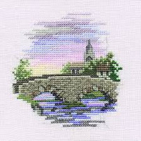 Minuets Bridge Cross Stitch Kit