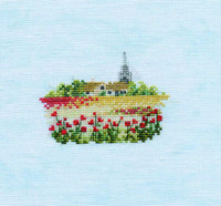 Minuets Poppyfield Cross Stitch Kit