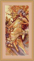 Autumn Cross Stitch Kit By Luca S