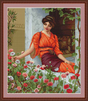 Flowers Of Summer Cross Stitch Kit By Luca S