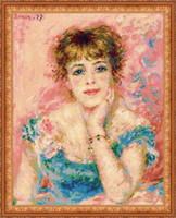 Portrait Of Jeanne Samary Cross Stitch Kit By Riolis