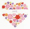 Love Heart Cross Stitch Kit By Dmc