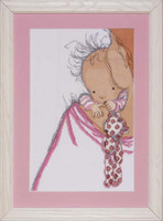 Baby Hugs Cross Stitch Kit By Design Works