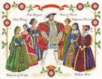 Henry The Eighth Cross Stitch Kit