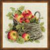 Ripe Apples Cross Stitch Kit By Riolis