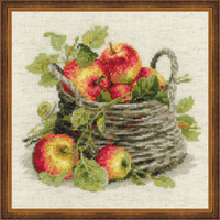 Ripe Apples Cross Stitch Kit By Riolis