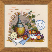 Still Life With Cheese Cross Stitch Kit By Riolis