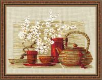 Tea Cross Stitch Kit