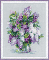 Gentle Lilac Cross Stitch Kit By Riolis