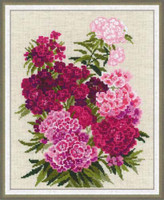 Sweet William Cross Stitch Kit By Riolis