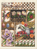 Spring Montage Cross Stitch Kit By Janlynn