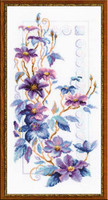 Clematis Cross Stitch By Riolis