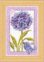 Floral Panel 1 Vervaco Cross Stitch Kit