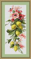 Lemons Cross Stitch Kit By Luca S
