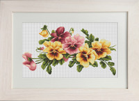Violas Cross Stitch Kit By Luca S
