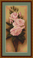 Roses Ii Cross Stitch Kit By Luca S