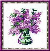 Bunch Of Lilacs Cross Stitch Kit