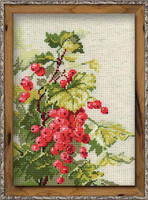 Red Currant Cross Stitch Kit