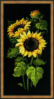 Sunflowers Cross Stitch Kit