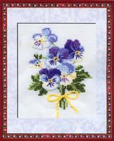 Violas Cross Stitch Kit