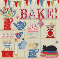 Bake Cross Stitch Kit By Bothy Threads