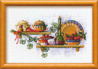 Spice Rack - Dill Cross Stitch Kit