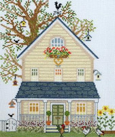 New England Homes - Summer - Cross Stitch Kit