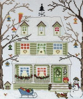 New England Homes - Winter - Cross Stitch Kit