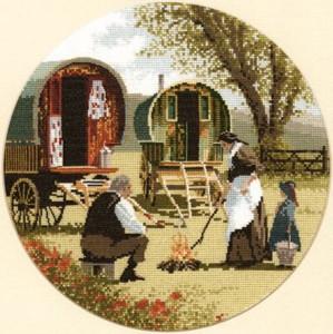 Gypsy Caravan Cross Stitch Kit