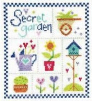Secret Garden Cross Stitch Kit