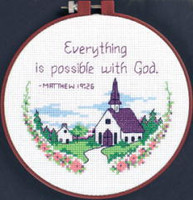 Everything Is Possible Learn A Craft Counted Cross Stitch Kit
