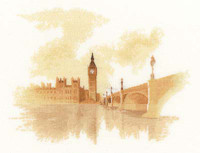Westminster Cross Stitch Kit By Heritage