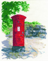 Post Box Cross Stitch Kit