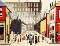 Street Scene Cross Stitch Kit